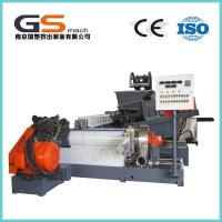 Buy cheap Single / Double Screw Plastic Pellet Making Machine For PVC Cable / Wire Materials from Wholesalers