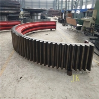 China ball mill Girth Gear and rotary kiln girth gear with 42crmo steel factory
