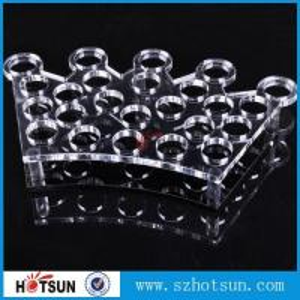 China Factory directly acrylic shot glass tray,most popular product clear acrylic shot glass tray ,acrylic serving tray factory