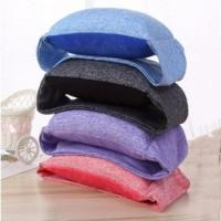 China Cotton Soft Cervical Neck Collar For Spondylitis U Shaped Anti - Snore With Eye Mask factory