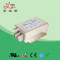 China Electric Passive Three Phase RFI Filter For Inverter 440V 480VAC 100A factory