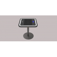 China Freehand Speaker 6.7V 20Ah LiFePO4 Wireless Charging Table factory