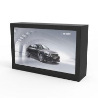 """China 49"""" 3D 450cd/m2 1920×1080 Transparent LCD Display Cabinet factory"""