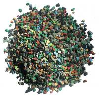 China Skid Proof Artificial Grass Rubber Granules Multi Colors For Training Places factory