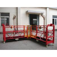 Buy cheap 90 Degree Red Steel Rope Suspended Platform Cardle for Building Cleaning from Wholesalers