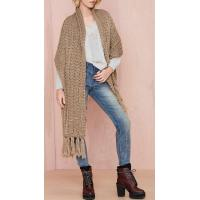 China High quality factory sale fashion women knit scarf on sale