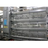 China Automatic Breeding Industrial Chicken Coop Full Galvanized Chicken Egg Cage factory