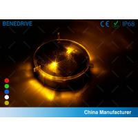 1 LED Each Side 2 Directions Solar Road Markers Well Fit Road Surface Energy Efficiency