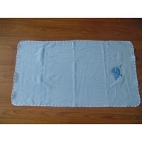 woven terry faric blue embroidered bath towels,towel factory