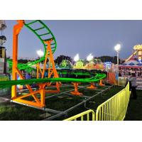 China 12 Seats 380V Kiddie Roller Coaster With Ethnic Characteristics Decoration factory
