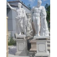 China Ancient Rome statues Museum marble sculptures Heracles replica stone statue,stone carving supplier factory