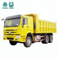 Buy cheap Multi Color 16 Cubic Meter Mine Dump Truck / 10 Wheel HOWO 6x4 Dump Truck from Wholesalers