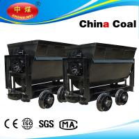 Buy cheap factory price bucket tipping mine car of coal for sale from Wholesalers
