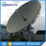 Buy cheap 7.3m big c/ku band parabolic satellite antenna for communication from Wholesalers