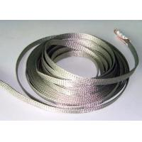Buy cheap Custom Diameter Tinned Copper Braid Shield For Cable Wire Grounding Harness from Wholesalers