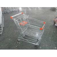 Buy cheap Asian Style Metal Shopping Trolley 100KGS with Anti-rust Treatment from Wholesalers