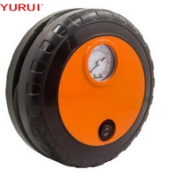 China Electric Plastic OEM 250psi Car Air Compressor/ DC 12V tire inflate black and orange Tire type product factory