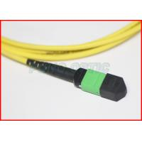Buy cheap Dual Jacket 12 Cores MPO Patch Cable , Fiber Optic Jumper 1310nm Wavelength from Wholesalers