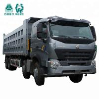 Buy cheap Comfortable Driving HOWO A7 Dump Truck / Large Dump Truck 351 - 450h from Wholesalers