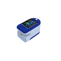 China quick test 2AAA finger pulse oximeter blood pressure monitor factory