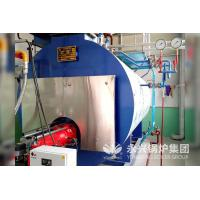 China Liquefied Petroleum Gas Fired Steam Boilers 6tph Stainless Steel Boiler Shell for Rice Mill factory