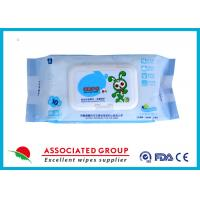 Buy cheap Ultra Packing Baby Cleaning Wipes Pearl Dot Spunlace Uncontinuorsly Extrating 90PCS from Wholesalers