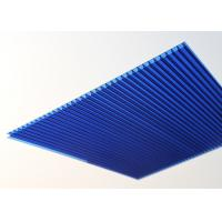 Buy cheap 10mm Polycarbonate Roofing Sheets Twin Wall High Light Transmission from Wholesalers