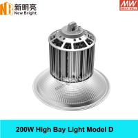 Buy cheap 200w industrial lighting led high bay light 3 years warranty 110lm/w aluminum housing from Wholesalers