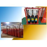 Enclosed Flooding FM 200 Suppression System Piped for Single Zone