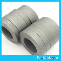 Buy cheap Hard Diametrically Magnetized Ferrite Ring Magnet Round Custom Size Y30 Y35 from wholesalers