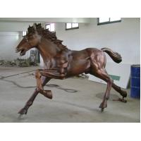 Buy cheap Running Bronze Horse Sculpture from Wholesalers