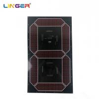 China Large Cree 7 Segment Digit Led Digital Board Component In 30 Inch Height factory