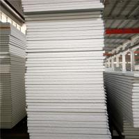 China 50mm 75mm sound insulation eps sandwich panel 11900x1150mm for prefabricated house factory