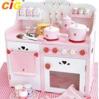 China Kid Kitchen Popular Outdoor Furnitures Kitchen Toy Set 380*660*700mm on sale