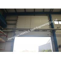China Commercial Overhead Sectional Sliding Industrial Garage Doors Factory Up Ward Fast Lifting Gate on sale