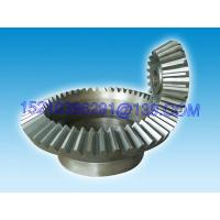 Buy cheap Heavy Duty Straight Bevel Gear Wheel , Cylindric Spur Straight-Tooth Gears from Wholesalers