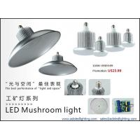 China factory lighting led highbay dimmable mushroom light meanwell driver bridgelux led CE factory