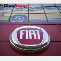 Buy cheap 3D plastic chrome finished car logo for outdoor pylon from Wholesalers