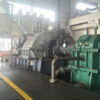 China Suction Type 24T/H Steam Turbine Electric Generator 3000kw for power plant factory