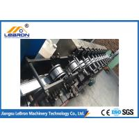 China PI PG Material Shutter Door Roll Forming Machine , Garage Door Roll Former Chrome Coated on sale