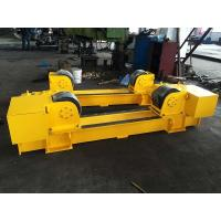 Buy cheap ABB Motor 20T Conventional Pipe Roller Stands, 20T Pipe Welding Rotator Bolt from wholesalers