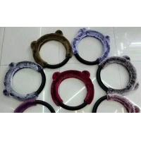 Buy cheap Multi Color Fuzzy Car Steering Wheel Covers 38CM SGS Certification For Car / from wholesalers
