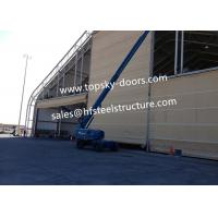 Buy cheap Hoist-up Fabric Doors With Mullions Multiple-door Versions Withstands High Wind Loads from Wholesalers
