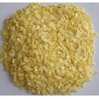 China 2017 new crop of dehydrated garlic chooped 5-8 mesh with very good quality factory