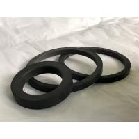 Buy cheap Durable Carbon Fiber Floating Seal Ring Designed In Industry , Black Color from wholesalers