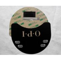 Tactile Membrane Switch with Metal Domes and LEDs MD25203