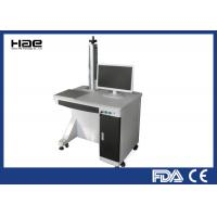 China Table Type Fiber Laser Marking Machine 0 - 100KHZ For Fine / Precision Marking on sale