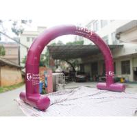 China Outside Inflatable Entrance Arch  / Inflatable Welcome Arch Door Easy Assembly factory