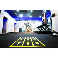 China Eco Friendly Rubber Gym Mats Anti Pressure Custom Color 400x400x20mm factory