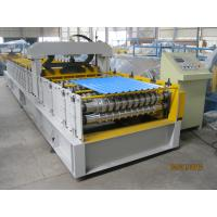 Buy cheap European Standard Cold Roll Forming Equipment 914mm Width , Roll Forming Machinery from Wholesalers